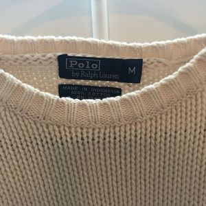 Vintage Polo knit sweater